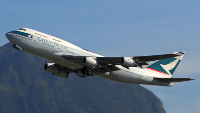 B-HUD - Boeing 747-467 - Cathay Pacific Airways