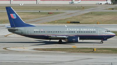N351UA - Boeing 737-322 - United Airlines