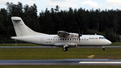 LN-FAI - ATR 42-300 - Coast Air