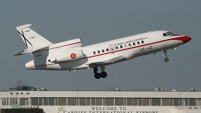 T.18-1 - Dassault Falcon 900 - Spain - Air Force
