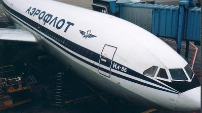 - Ilyushin IL-86 - Aeroflot