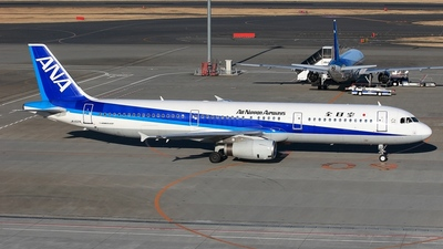 JA102A - Airbus A321-131 - All Nippon Airways (ANA)