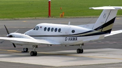 G-HAMA - Beechcraft 200 Super King Air - Private