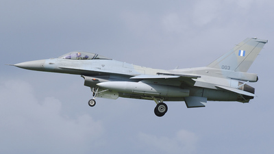 003 - General Dynamics F-16C Fighting Falcon - Greece - Air Force