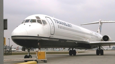 SE-RBI - McDonnell Douglas MD-83 - Transjet Airways