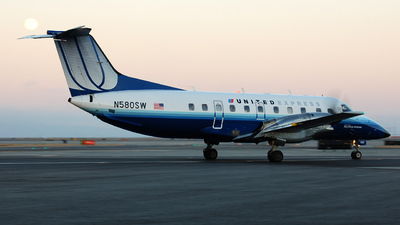 N580SW - Embraer EMB-120ER Brasília - United Express (SkyWest Airlines)