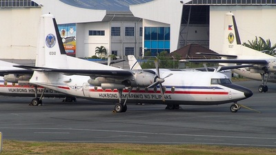 10310 - Fokker F27-500 Friendship - Philippines - Air Force