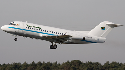 5H-CCM - Fokker F28-3000 Fellowship - Tanzania - Government