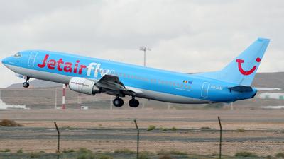OO-JAM - Boeing 737-46J - Jetairfly
