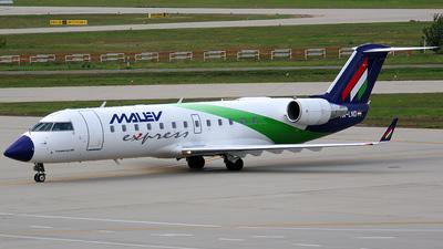 HA-LND - Bombardier CRJ-200ER - Malev Hungarian Airlines