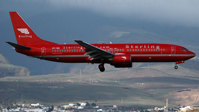 OY-SEI - Boeing 737-85H - Sterling Airlines