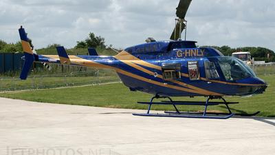 G-HNLY - Bell 206L-3 LongRanger - Private