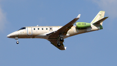 4X-CVK - Gulfstream G150 - Israel Aerospace Industries (IAI)