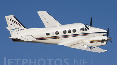 LQ-ZRB - Beechcraft C90B King Air - Argentina - Government of the Province of Santiago del Estero