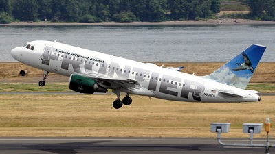 N909FR - Airbus A319-111 - Frontier Airlines