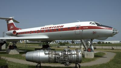 DDR-SCB - Tupolev Tu-134A - Interflug