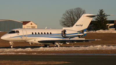 N447HB - Hawker Beechcraft 4000 - Private
