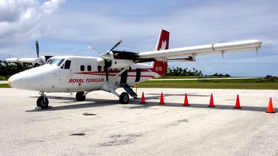 A3-FQL - De Havilland Canada DHC-6-300 Twin Otter - Royal Tongan Airlines