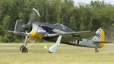 F-AZZJ - Focke-Wulf Fw190A-8 - Private