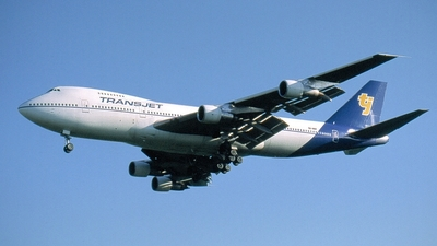 SE-RBP - Boeing 747-238B - Transjet Airways