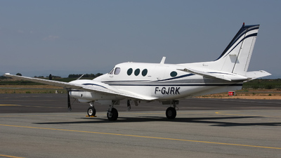 F-GJRK - Beechcraft C90A King Air - Private