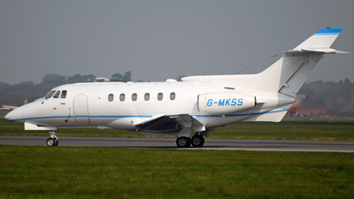 G-MKSS - Hawker Siddeley HS-125-700B - Private