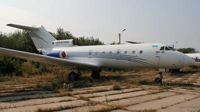 UR-87405 - Yakovlev Yak-40 - Untitled
