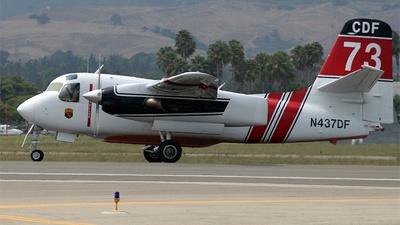N437DF - Grumman S-2F3AT Turbo Tracker - CDF Tankers