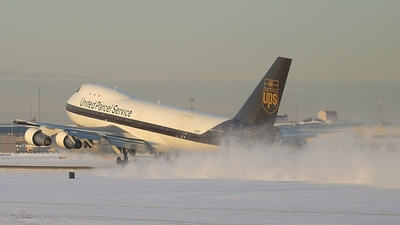 N672UP - Boeing 747-123(SF) - United Parcel Service (UPS)