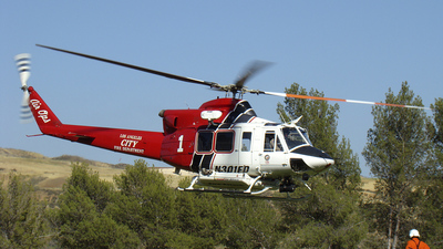 N301FD - Bell 412EP - United States - Los Angeles Fire Department