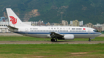 B-2504 - Boeing 737-36M - Air China