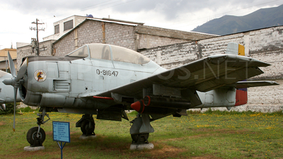 FAE0-91647 - North American T-28D Trojan - Ecuador - Air Force