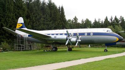 D-ANAM - Vickers Viscount 814 - Lufthansa