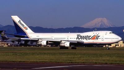 N606FF - Boeing 747-136 - Tower Air