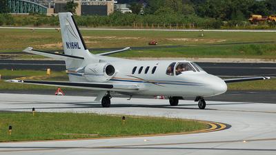N16HL - Cessna 501 Citation - Private