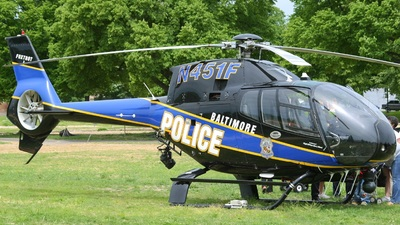 N451F - Eurocopter EC 120B Colibri - United States - Baltimore City Police