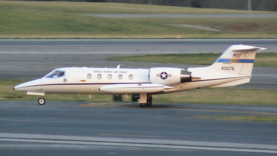 84-0075 - Gates Learjet C-21A - United States - US Air Force (USAF)