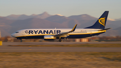 EI-DHF - Boeing 737-8AS - Ryanair