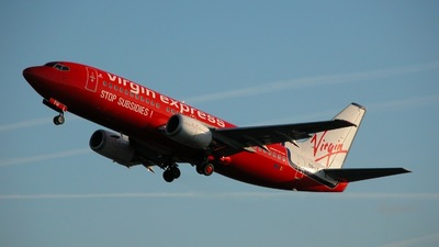 OO-LTU - Boeing 737-33A - Virgin Express