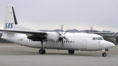 LN-RNM - Fokker 50 - Scandinavian Commuter (SAS)