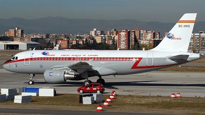 EC-KKS - Airbus A319-111 - Iberia