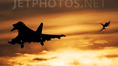 ZJ929 - Eurofighter Typhoon F.2 - United Kingdom - Royal Air Force (RAF)