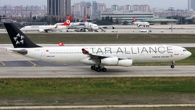 TC-JDL - Airbus A340-311 - Turkish Airlines