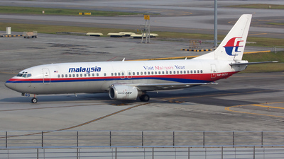 9M-MQG - Boeing 737-4H6 - Malaysia Airlines