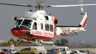 MM81473 - Agusta-Bell AB-412HP - Italy - Coast Guard