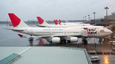 JA8919 - Boeing 747-446 - Japan Airlines (JAL)