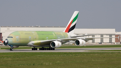 F-WWSV - Airbus A380-861 - Airbus Industrie