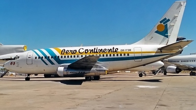 OB-1736 - Boeing 737-130 - Aero Continente