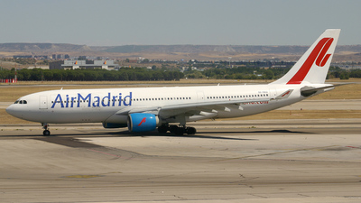 SE-RBG - Airbus A330-223 - Air Madrid