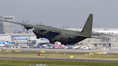 ZH869 - Lockheed Martin Hercules C.4 - United Kingdom - Royal Air Force (RAF)